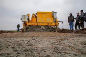 betonpad storten bij Snijder